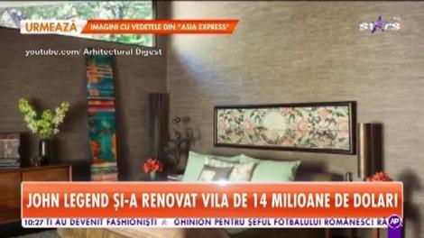 John Legend și-a renovat vila de 14 milioane de dolari