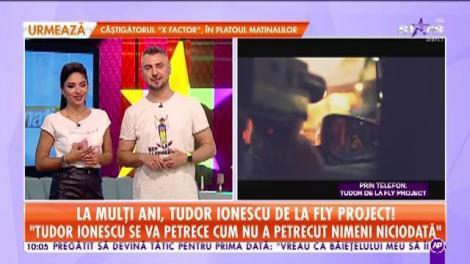 """La mulţi ani, Tudor Ionescu de la Fly Project! """"De ziua mea dorm!"""""""