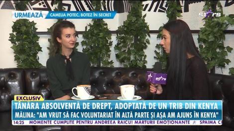 O româncă absolventă de drept, adoptată de un trib din Kenya
