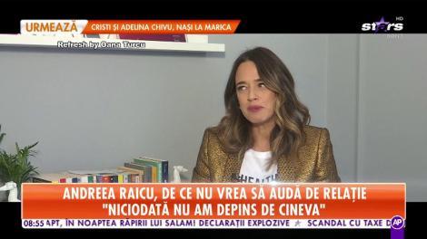 """Andreea Raicu, despre momentele când a făcut foamea: """"Nu mâncam până leșinam!"""""""