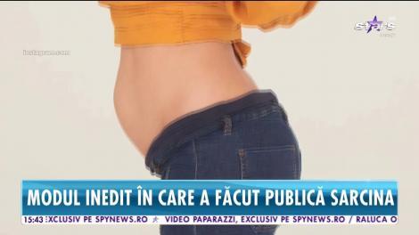 Primele imagini cu bebelușul lui Catrinel Menghia, publicate – VIDEO