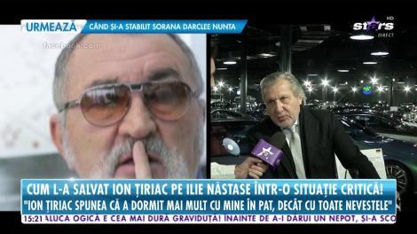 """Cum l-a salvat Ion Țiriac pe Ilie Năstase într-o situație critică: """"Gemeam că mă durea și m-a văzut tot alb și transpirat"""""""