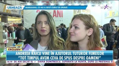 """Andreea Raicu vine în ajutorul femeilor: """"Cartea se adresează tuturor celor care vor să se descopere"""""""