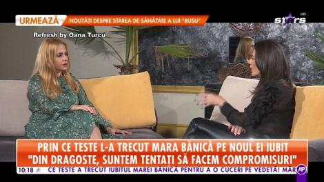 """Prin ce teste l-a trecut Mara Bănică pe noul ei iubit: """"Nu aș mai alege un om care să nu aibă umor"""""""