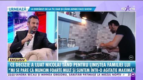 """Rețeta preferată a lui chef Nicolai Tand: """"Îmi place să fac porumbei"""""""