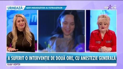 Primele imagini cu Andreea Marin după intervenția chirurgicală suferită