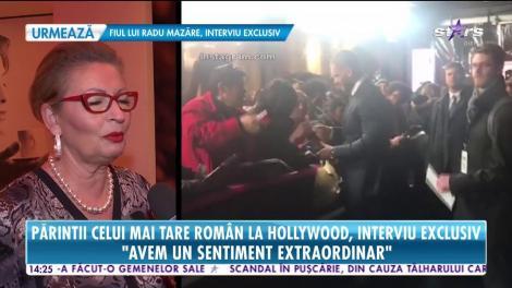 """Părinții lui Florian Munteanu, românul care face senzație la Hollywood, au oferit un interviu în exclusivitate: """"Avem un sentiment extraordinar"""""""