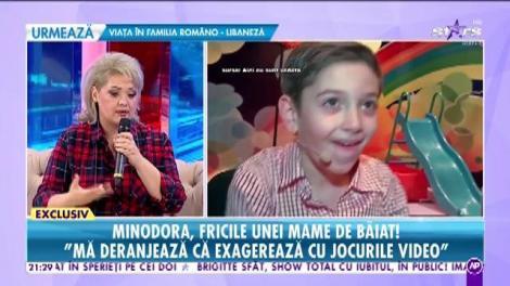 """Minodora, fricile unei mame de băiat: """"Lui Marco i-am explicat de mic ce înseamnă să nu ai"""""""