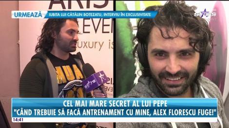 Pepe ne spune care este marele lui secret!