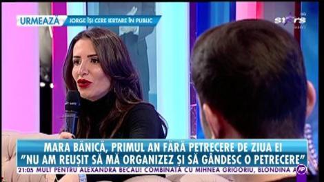 Mara Bănică, primul an fără petrecere de ziua ei!