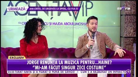 Jorge renunţă la muzică pentru haine? Totul despre talentul ascuns pe care puțini îl știu