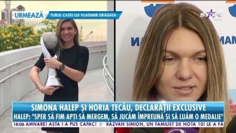 Simona Halep şi Horia Tecău, în lotul olimpic de tenis al României