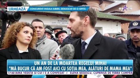 Un an de la moartea Regelui Mihai I. Ceremonie emoționantă la la Curtea de Argeș