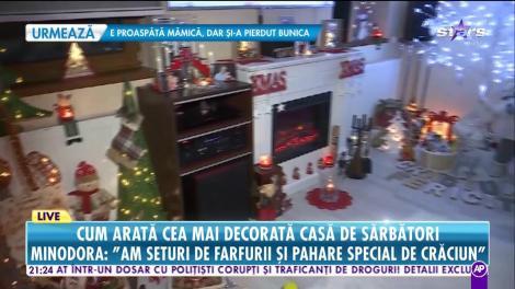 Live! Minodora, colind special de Sărbători