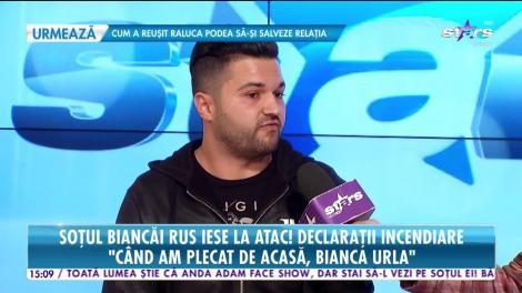 Soţul Biancăi Rus lansează acuzaţii grave la adresa cântăreţei