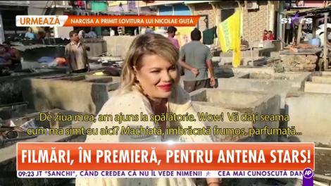 """Gina Pistol, sărbătorită în Mumbai: """"Îmi doresc să fiu fericit şi îmi mai doresc Asia Express 3!"""""""