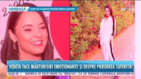 Andreea Marin, prima apariţie publică după operaţia la coloană