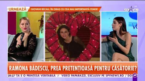 Ramona Bădescu, răvăşitoare la 50 de ani. A primit un inel preţios