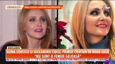 Alina Sorescu şi Alexandru Ciucu, primul Crăciun în noua casă