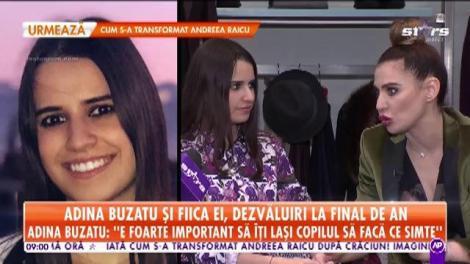 """Adina Buzatu şi fiica ei, Sara, dezvăluiri la final de an: """"Facem totul împreună"""""""