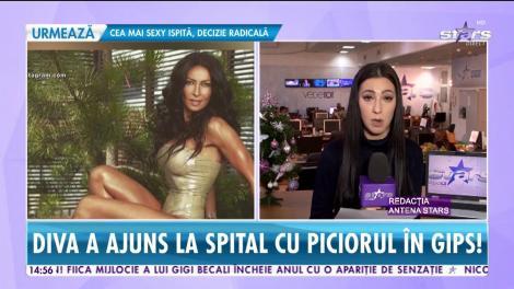 Scene şocante între Mihaela Rădulescu şi fostul soţ. Bărbatul a călcat-o cu maşina, după un scandal monstru între ei!