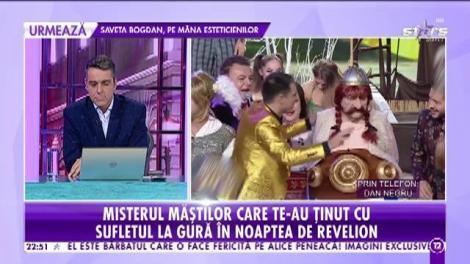 Dan Negru a ținut milioane de români în fața televizoarelor în noaptea dintre ani