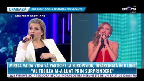 Gravidă în șapte luni, Mirela Boureanu Vaida participă la Eurovision
