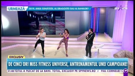 Anca Bucur, campioana Miss Fitness Universe, revenire spectaculoasă în concurs la patru luni după ce a născut