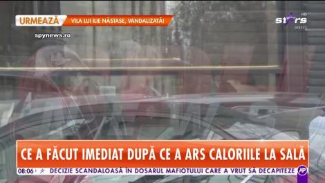 Ce a făcut Andreea Esca după ce a ars caloriile la sală