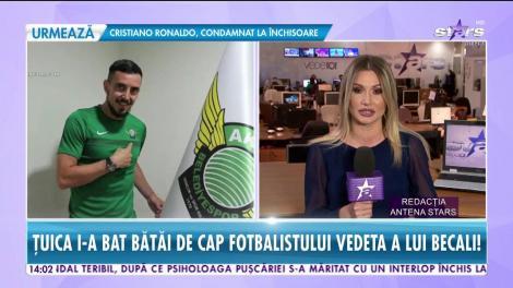 Fotbalistul vedetă al lui Gigi Becali, condamnat la închisoare! Totul s-a întâmplat de la consumul de ţuică