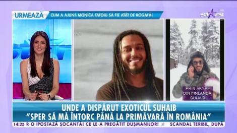 Suhaib Meshah a lăsat România pentru frigul din Finlanda