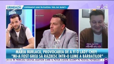 """Maria Burlacu și Andrei Balazs, finaliștii lui Cătălin Scărlătescu, replică pentru câștigătorul Mihai Munteanu: """"Dacă ar fi să gătim singuri, toți trei, eu sau Maria trebuia să fim câștigători"""""""