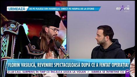 Florin Vasilică, revenire spectaculoasă după ce a fentat operația