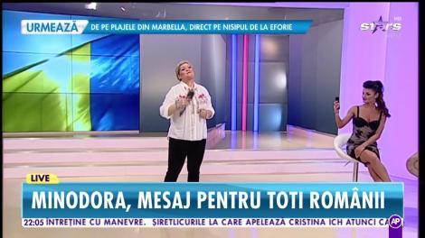 "Minodora - ""Doamne, ocrotește-i pe români"""