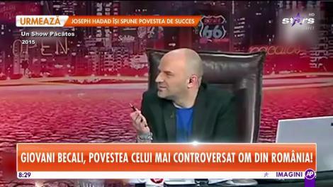 Giovanni Becali, drumul de la sărăcie la bogăție