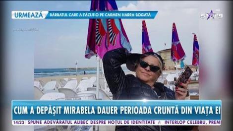 La un an de la operaţie, Mirabela Dauer a fost în ţara sfântă