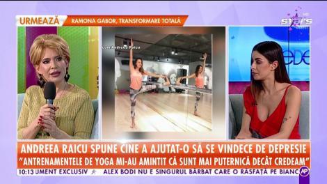"""Andreea Raicu spune cine a ajutat-o să se vindece de depresie: """"Antrenamentele au fost alături de mine în perioadele de depresie, durere, confuzie"""""""