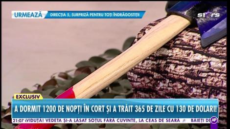 """Mirel Magop, tâmplarul care a făcut înconjurul lumii pe jos: """"Cunoscătorii mă compară cu Badea Cârțan"""""""