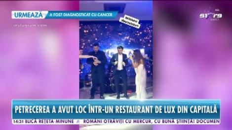 Nogdan Nemțeanu şi-a botezat copilul. Imagini de la petrecere