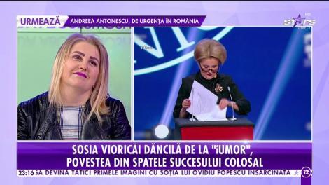 """Irena Boclincă, sosia Vioricăi Dăncilă de la """"iUmor"""": """"Ideea mi-a venit într-o secundă. Eu venisem pregătită cu alt număr"""""""