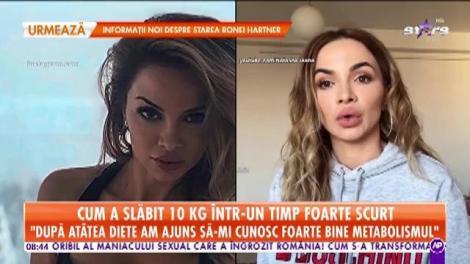 Natasha Ioana, dieta minune cu care a slăbit 10 kilograme