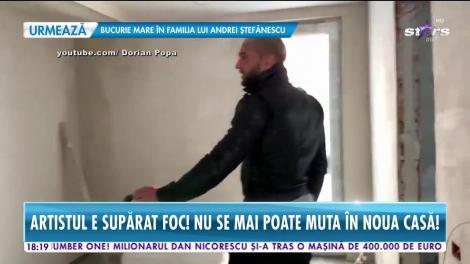 Dorian Popa, probleme cu vila de zeci de mii de euro! Nu se mai poate mută în noua casă