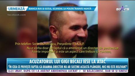 """Acuzatorul lui Gigi Becali iese la atac: """"Genul acesta de reacții îl bagă în pușcărie!"""""""