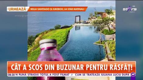 Adriana Petrescu, vacanță de senzație în Bali. Cât a scos din buzunar pentru răsfăț