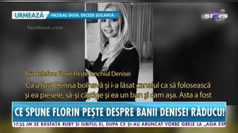 Familia Denisei Răducu, acuzaţii fără precedent! Ce spune Florin Peşte despre banii