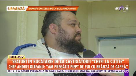 Sunt ca sarea şi piperul atunci când se întâlnesc! Chef Andrei Olteanu şi Doina de la iUmor au făcut show în bucătărie!