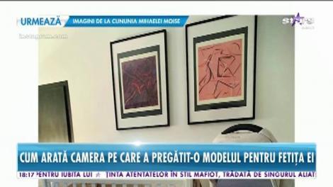 Catrinel Menghia, primele imagini cu micuţa Caroline! Cum arata camera fetiţei