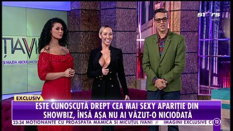 """Raluca Podea și-a băgat pixul sub sân!: """"Aș putea să bag și un briceag!"""""""