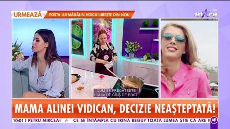 Mama Alinei Vidican, decizie neașteptată! Și-a scos mobila din casă la vânzare