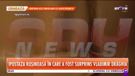 Vladimir Drăghia îşi face toate poftele, în timp ce nevasta sa trebuie să aibă grijă de copil!